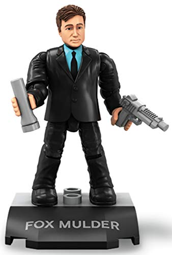 Mega Construx Heroes Fox Mulder Micro Action Figur Akte X