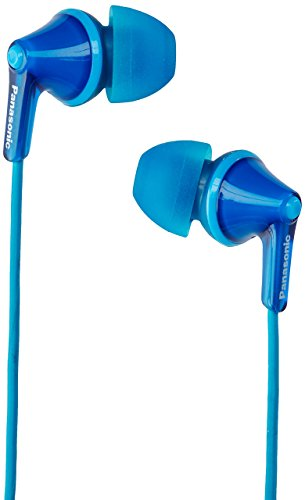 Panasonic RP-HJE125-A Wired Earphones, Blue, 7 x 9.8 x 20