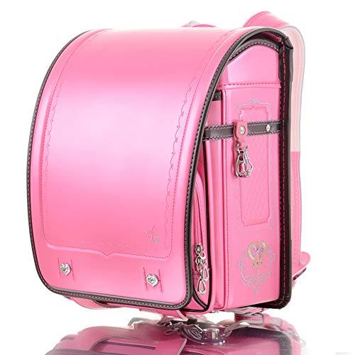 Ransel Randoseru Automatic Japanese school bag for Boys Girls Senior PU leather