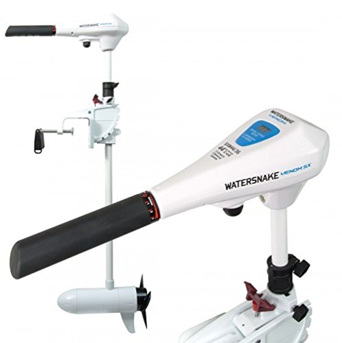 Watersnake Saltwater Venom SX Transom Mount Electric Outboard Motor 34lb or 54lb