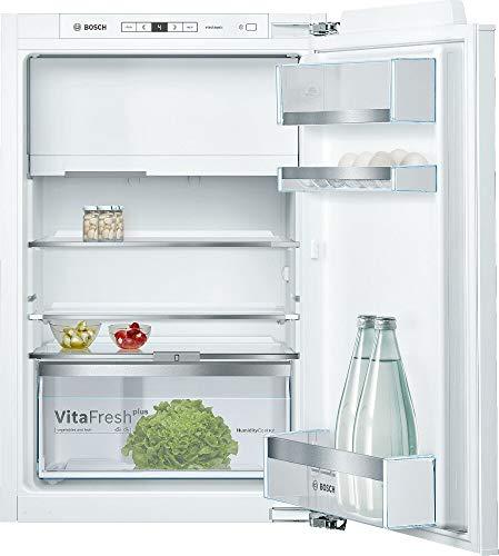 Bosch KIL22ADD0 Serie 6 Einbau-Kühlschrank mit Gefrierfach / D / 88 cm Nischenhöhe / 115 kWh/Jahr / 109 L Kühlteil / 15 L Gefrierteil / VitaFresh plus / VarioShelf
