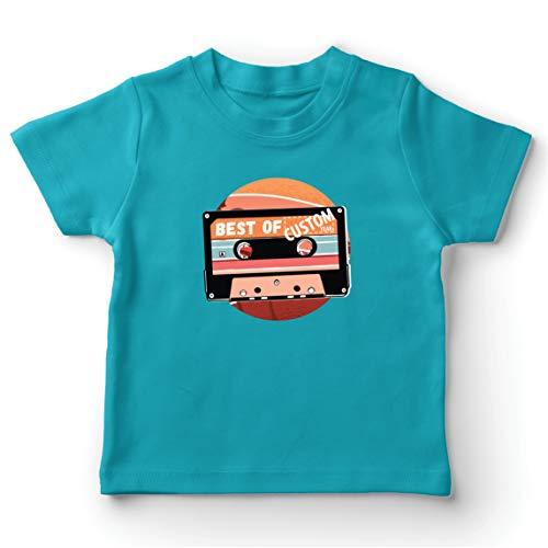 lepni.me Camiseta para Niño/Niña Cassette Antiguo Lo Mejor