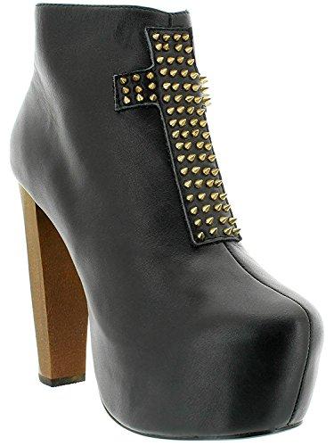 Kat Von D Ankle Boot Siouxsie Black Schwarz 36