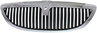 Partomotive For 03-11 TownCar Limited Front Grill Grille Assembly Chrome FO1200447 6W1Z8200AA