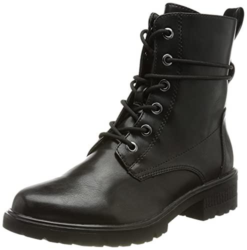 Tamaris Damen 1-1-25280-27 Halblange Stiefel, Black MATT, 40 EU