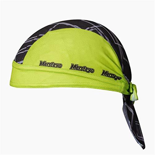 X-Labor Unisex Bandana Cap Atmungsaktiv UV Schutz Kopftuch Bikertuch Fahrrad Radsport MTB Kopfbedeckung gelb
