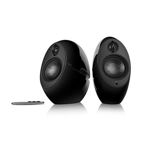 EDIFIER Luna E25 Design-Lautsprecherset mit Bluetooth (74 Watt), schwarz