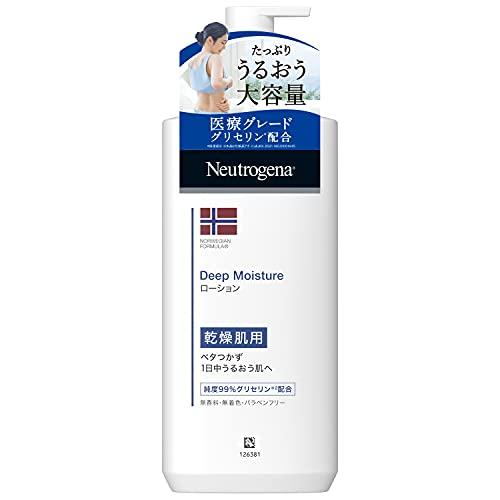 ノルウェーフォーミュラ ディープモイスチャー ボディミルク 乾燥肌用 無香料 単品 大容量