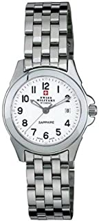 Swiss Military - Reloj para Mujer Analógico de Cuarzo con Brazalete de Acero Inoxidable 20001ST-4M