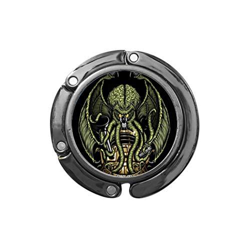 Gancho hecho a mano para monedero, Kraken vidrio cúpula bolsa gancho, regalo para ella, joyería libre nekel, delicado gancho para monedero, simple gancho para monedero, N118