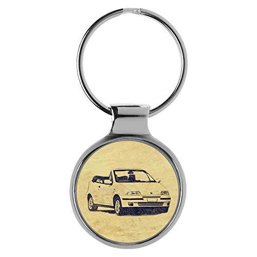KIESENBERG llavero regalos para Fiat Punto Cabrio Fan A-6484