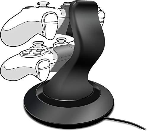 Speedlink TWINDOCK Charging System - Ladestation für 2 DUALSHOCK-4-Controller der PlayStation 4, schwarz