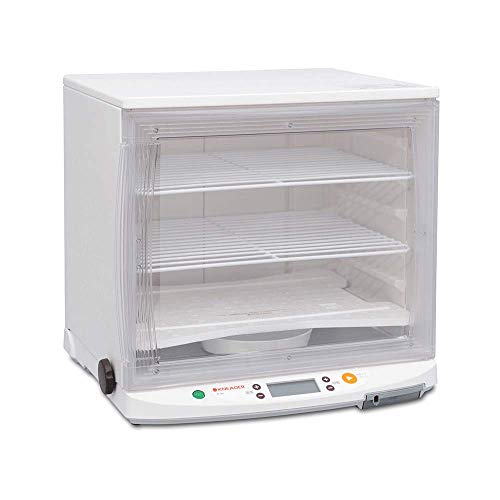 Fast Automatic Fermenter Incubator: KNEADER Compact Collapsible Foldable Washable ToolFree Assembled Household Kitchen Bread Yeast Yogurt Fermentation Device – Made in Japan PF102T 110 V