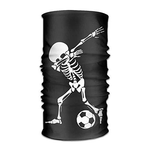 dingjiakemao Dabbing Skeleton Soccer Versatile Outdoors Daily Stylish Headwear Multifunctional Sport Headband Sweatband,Magic Scarf,Head Wrap,Neck Gaiter,Bandana,Helmet Liner, Balaclava,Tube Mask