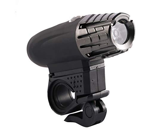 PovKeever USB recargable bicicleta faro trasero luces LED visibilidad seguridad luz trasera