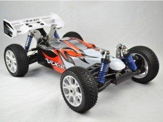 VRX VRX-2E ASTREA Versione 2013 Buggy Elettrico Brushless con Batteria Lipo 11,1V e Radio 2.4gHz in Scala 1/8 4WD RTR