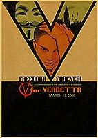 V for Vendetta-大人用1000ピースジグソーパズルジグソーパズル、家族向けパズルセット、教育ゲーム、子供向けブレインチャレンジパズルバースデーギフトウェディングギフト