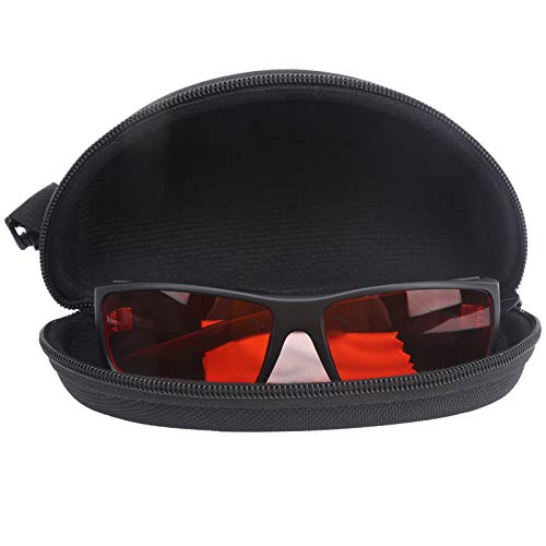 Gafas para daltonismo para ceguera rojo-verde, revestimiento especial, luminosidad adicional, adecuadas para personas que sufren tanto de daltonismo como de corrección de miopía