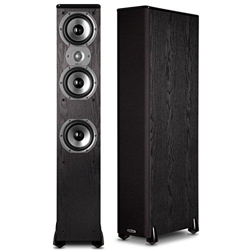 8. Polk Audio TSi400 4-Way Tower Speakers (Pair)