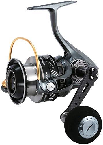 ABU GARCIA - Carrete Spinning Revo Alx Theta 4000Sh – R.6.2:1 – Recov.98 cm – BRK 7.7 kg – 250 g – 1530610