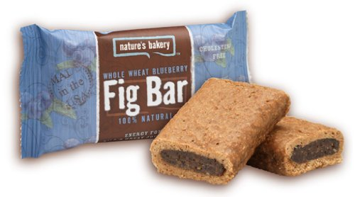 Nature's Bakery Whole Wheat Fig Bar, Blueberry, 2 Ounce, 12 Count