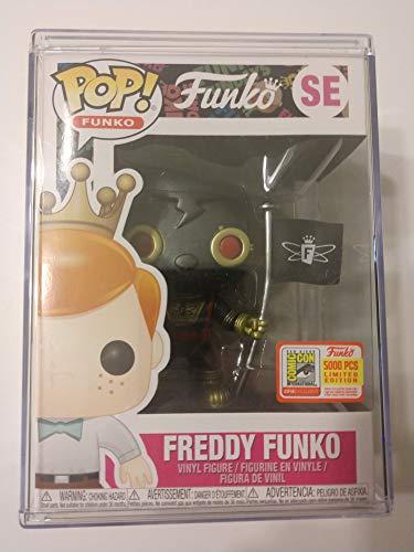 Funko POP! Freddy Black & Gold Space Robot SDCC Fundays 2018 LE 5000 -  robot1