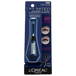 L'Oreal Paris Makeup Unlimited Lash Lifting and Lengthening Waterproof Mascara, Blackest Black (B07H621PRR) | Amazon price tracker / tracking, Amazon price history charts, Amazon price watches, Amazon price drop alerts