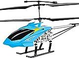 UimimiU Grande Rc Aviones Drone Niños Juguetes al aire libre Cargar Rc Helicóptero remoto eléctrico resistente a la caída con avión modelo juguetes rojo DIRIGIÓ Luces for niños adultos regalos de Navi