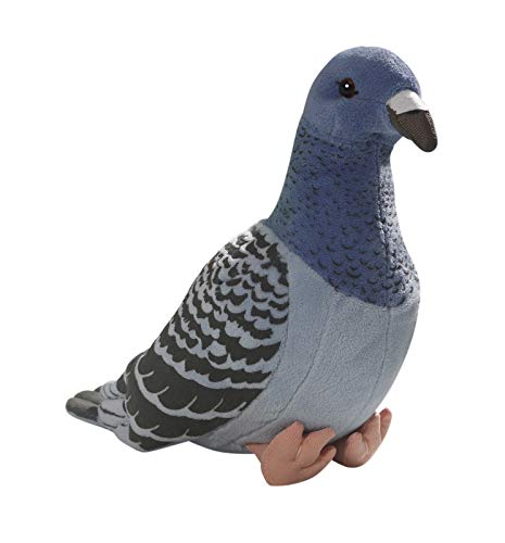 Carl Dick Taube, Stadttaube blau aus Plüsch ca. 24cm 3299