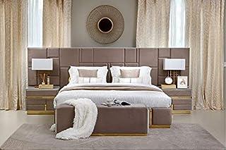 Pan Emirates Dreamwave 5 Pieces Bedroom Set, Multicolor - 180 x 200 cm