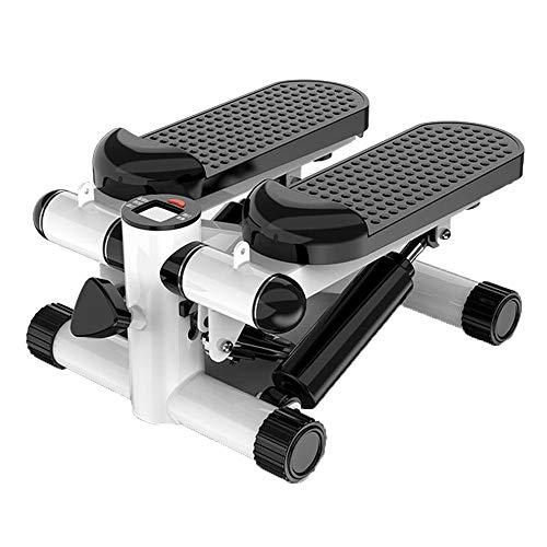 ZIEO Paso a Paso Pedal De La Máquina Multifuncional Miniatura Elíptica Mini Máquina De Montañismo For Uso Doméstico Steppers (Color : White, Size : One Size)