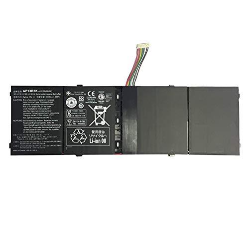 K KYUER AP13B3K AP13B8K Laptop Battery for Acer Aspire M5-583P R7-571G R7-572 R7-572G R3-471TG V5-583P V5-552G V5-552P V5-572P V5-573P V7-481 V5-472P V5-472G V5-473G V5-473PG V5-572G V7-482P V5-452PG