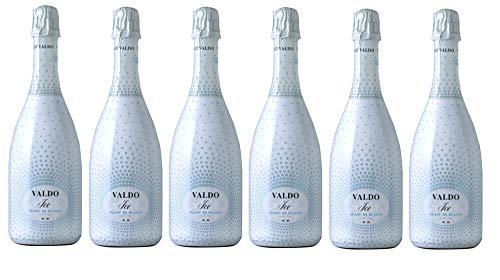 VALDO ICE Blanc De Blancs Demi Sec Schaumwein [ 6 FLASCHEN x 750ml ]