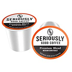 SERIOUSLY GOOD TASTE: With notes of brown sugar, hazelnut, and plum, our specialty grade, gourmet blend beans are carefully selected and expertly roasted to ensure a bold, smooth flavor to satisfy even the most discerning coffee drinker. COMPATIBLE W...