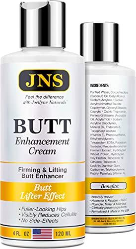 Butt Enhancement Cream - Powerful Butt Enlargement Cream - Made in USA - Firming & Lifting Effect - Hip Lift Up Formula for Fuller Bigger Butt - Natural Buttock Enhancement without Butt Injections