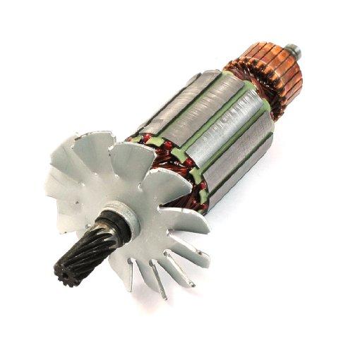 Aexit AC 220V Rotor de motor eléctrico 11 dientesÁrbol de transmisión para sierra circular Hitachi C7 (8b069e99766dd5edafbe3467777bf0d1)