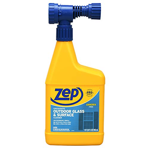 Zep Concentrated Outdoor Glass and Surface Cleaner (Hose-End) 32 Ounce U49910