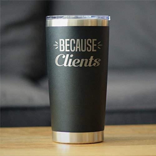 Vaso de vino aislado porque Clients Copa de vino recta con tapa deslizante aislada al vacío, taza de acero inoxidable para fiesta, hogar, oficina, 600 ml