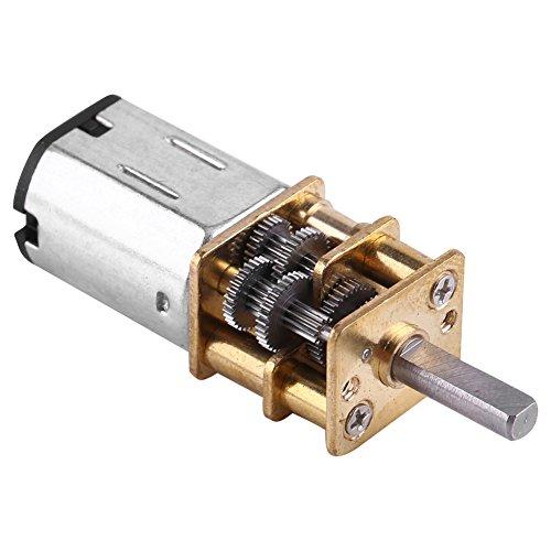 DC 6V Motor de Engranajes Motor de Reducción de Alta Fuerza de Tensión 1: 1000 Motor de Engranajes 10/15/20RPM(10 RPM)