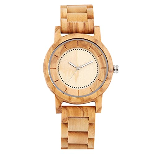 Wood Watch Casual Bangle Wooden Strap Watches Women 2