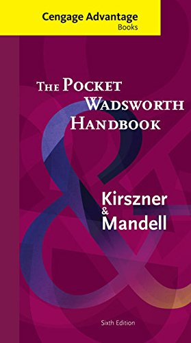 Cengage Advantage Books: The Pocket Wadsworth Handbook (with 2016 MLA Update Card)