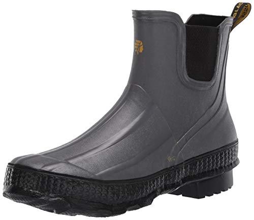 Lacrosse Damen Grange Chelsea 12,7 cm wasserdichte Outdoor-Stiefel, Grau (grau/schwarz), 40 EU