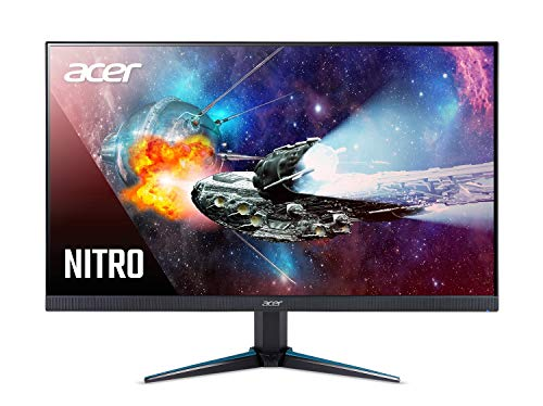 Acer Nitro VG240YU bmiipx 23.8' WQHD (2560 x 1440) IPS Monitor with AMD Radeon FreeSync Technology (2 x HDMI 2.0 Ports & 1 x Display Port),Black