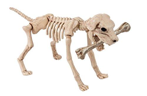 Skelett Zombie Hund XL Halloween Schocker Köter frei stehender Tier Horror über 0,4 Meter groß