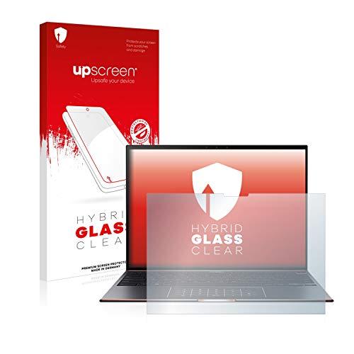 upscreen Protector Pantalla Cristal Templado Compatible con ASUS Zenbook S UX393EA Hybrid Glass - 9H Dureza