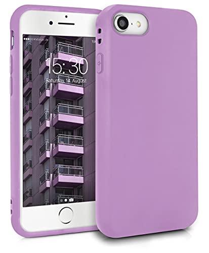 MyGadget Cover per Apple iPhone 7/8 / SE 2020 - Custodia Protettiva in Silicone Morbido – Case TPU Flessibile - Protezione Antiurto & Antigraffio Lilla