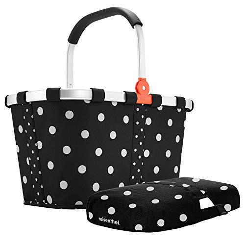 Reisenthel carrybag Mixed dots Einkaufskorb Plus passendes Cover Mixed dots