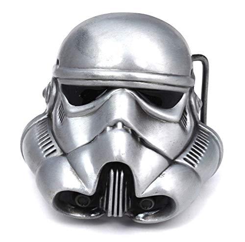 Gemelolandia Hebilla Star Wars Stormtrooper | Complementos de Moda Unisex Para Hombres y Mujeres Exclusivos y Atemporales | Accesorios Para Regalos Originales