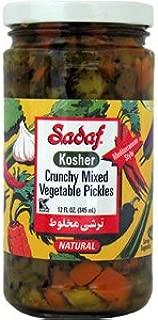 Sadaf Crunchy Mixed Vegetable Pickles, 12 Oz (Kosher)