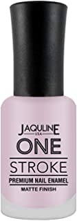 Jaquline USA One Stroke Premium Nail Enamel Matte Finish, Miss Perfect 38, 8 ml